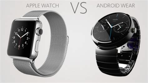 android smartwatch comparison apple vs android wear smartwatch os comparison