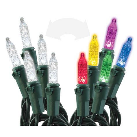 sylvania led mini lights sylvania color changing led mini lights 100 ct bj s