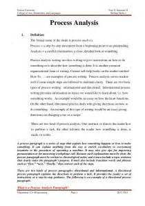 Definition Essay Assignment by Process Analysis Assignment