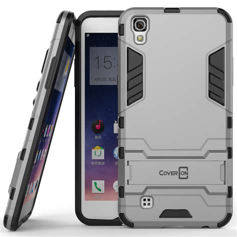Lg X Power K220y Future Armor Hybrid Holster Belt Casing Cover coveron for lg x power hybrid stand armor phone