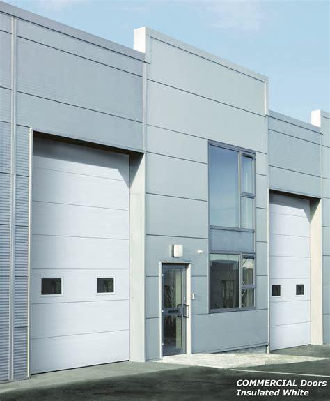 commercial sectional doors commercial sectional garage doors facade door systems