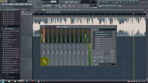 fl studio acapella tutorial how to make acapella in fl studio easy youtube