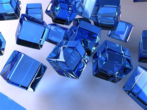 wallpaper blue cube 1024x768 the blue cubes desktop pc and mac wallpaper