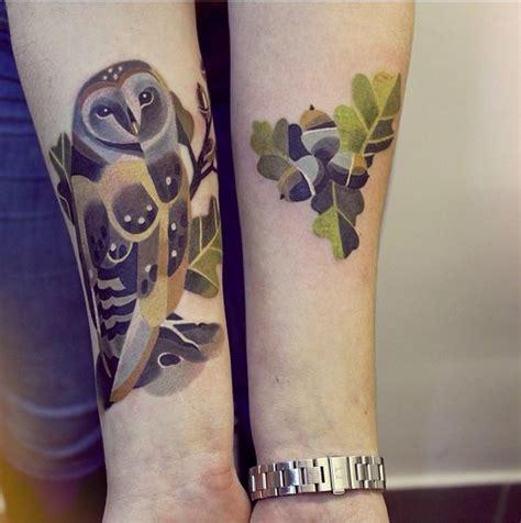 watercolor tattoo process artist s unique process creates vibrant works of