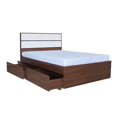 Ashton Bed 54x75 Maple Higloss W Headboard Mandaue Bed Frames Furniture