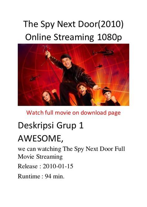comedy vs action film the spy next door 2010 online streaming 1080p comedy