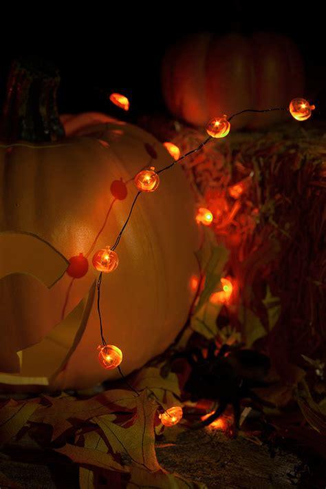 pumpkin string lights led pumpkin battery operated mini string lights