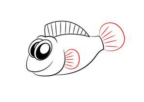 How to draw a cartoon fish step by step apps directories
