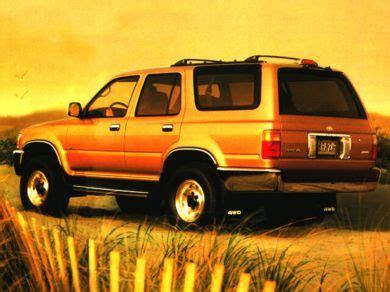 97 toyota 4runner mpg 1997 toyota 4runner specs safety rating mpg carsdirect