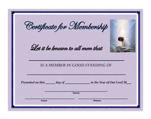 church membership card template membership certificate templates 20 free word pdf