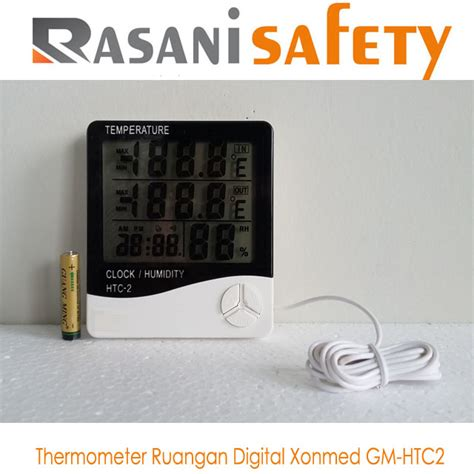 Termometer Digital Ruangan thermometer ruangan digital xonmed gm htc2