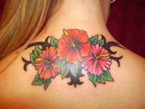 colorful flower tattoo designs 36 beautiful hawaiian flower tattoos