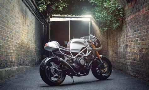 Motorrad Yamaha Trx 850 by Yamaha Trx850 Cafe Racer Bikebrewers