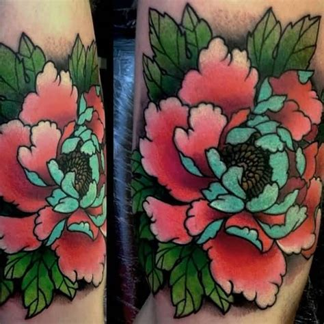 peony flower tattoo designs 50 traditional peony tattoos designs and ideas