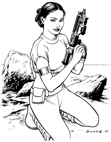 star wars queen amidala coloring page star wars princess leia coloring pages padme amidala