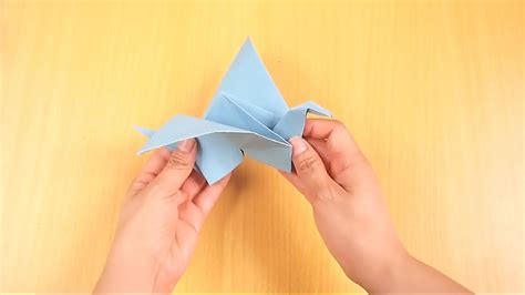 Make Origami Flying - how to make an origami flying bird wikihow