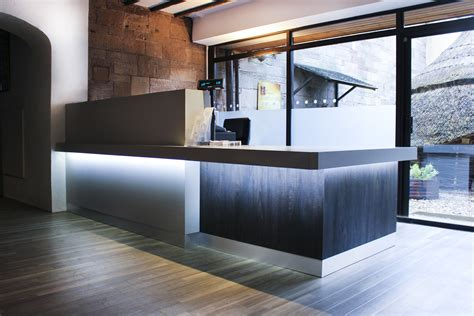 reception desk interior design museum reception design and fit out rmc designco