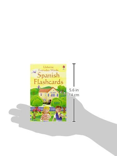 libro everyday words in spanish everyday words flashcards di felicity brooks