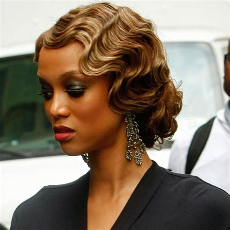 short 20s style curl 18 gorgeous finger wave hairstyles for your next formal event