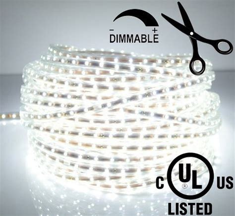 led ribbon under lighting ledjump bright pure white dimmable linkable 300smd led