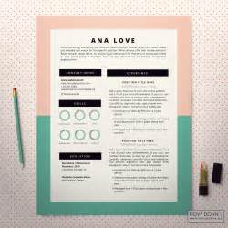 resume template cv template design cover letter