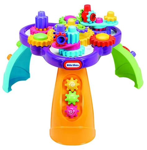tikes activity table tikes giggly gears activity table mga entertainment
