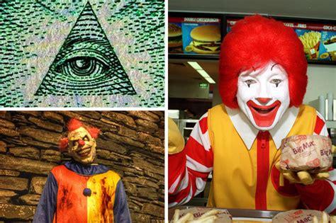 mcdonald illuminati illuminati satan ronald mcdonald started killer clown