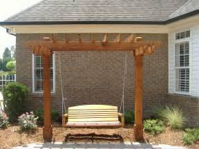 Swing Pergola Plans by Arbor Swing Plans Arbor Decal Galleries