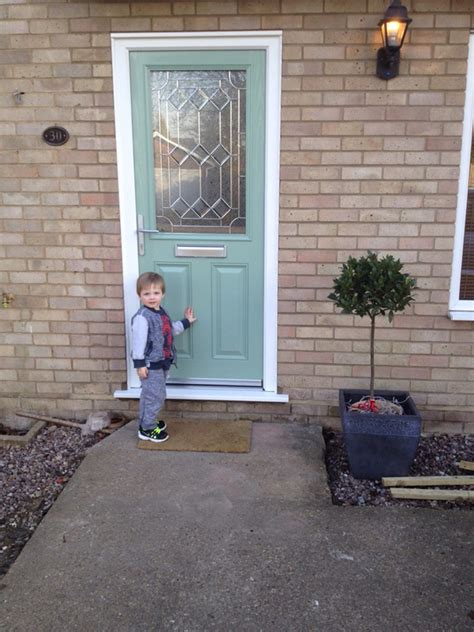 pale green composite front door falcon windows the quality choice in windows doors and