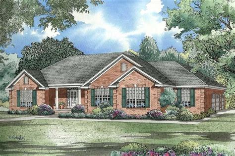 ranch house designs traditional ranch house plan three bedrooms plan 153 1432