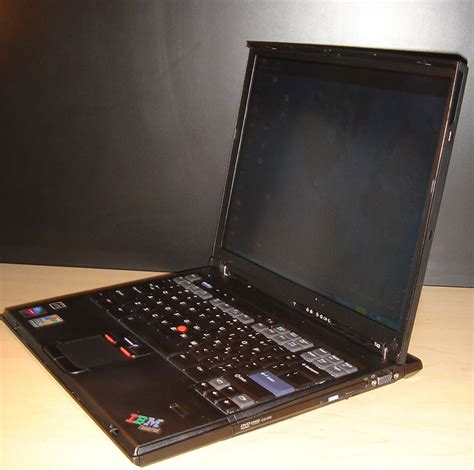 Laptop Ibm T43 ibm thinkpad t43 review pics specs notebookreview