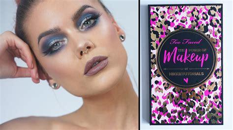 makeup tutorial two face too faced x nikkietutorials the power of makeup tutorial