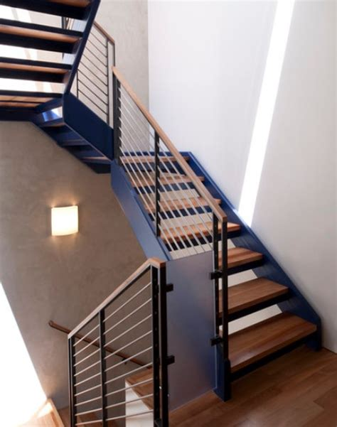 modern banisters for stairs modern handrail designs that make the staircase stand out