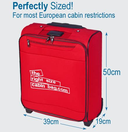 cabin luggage size the right size cabin bag detailed review