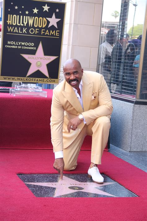 steve harvey walks atlanta radio host down the aisle caribpress 187 steve harvey honored on the hollywood walk of
