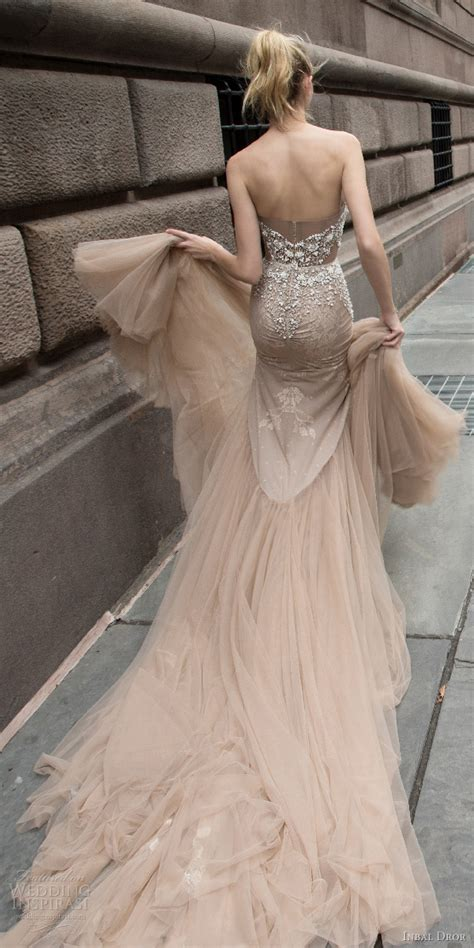 Wedding Dresses With Color And Design by Inbal Dror 2016 Wedding Dresses Wedding Inspirasi