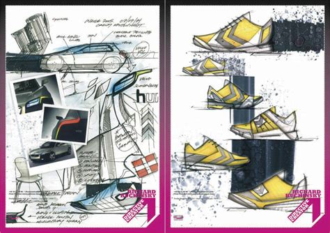 page layout and design concepts first pullover footwear concept design process