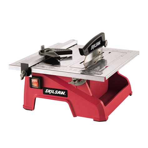 bench tile saw shop skil 7 in wet dry tabletop tile saw at lowes com