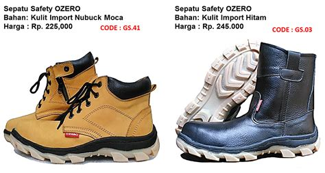 Sepatu Safety Impor Pabrik Sepatu Safety Murah Sni 0822 3025 0051