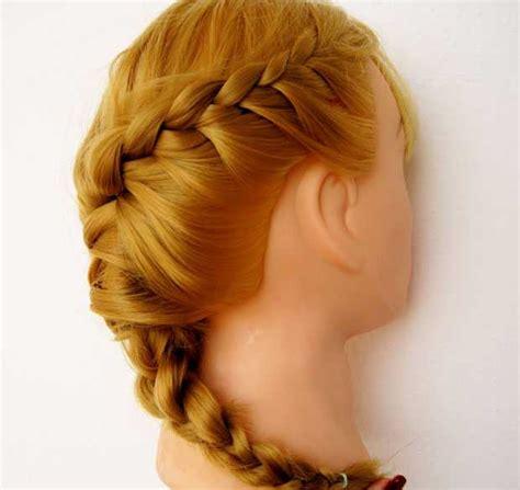 treccia laterale attaccata alla testa come fare la treccia attaccata al capo laterale beautydea