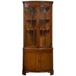 Wood Corner Cabinet Bevan Funnell Yew Wood Corner Cabinet At 1stdibs