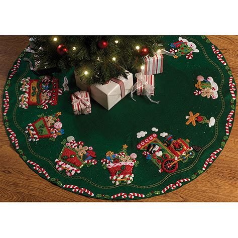 tree skirts walmart bucilla felt applique tree skirt express walmart