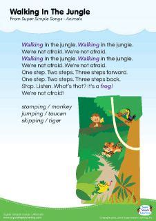 let s learn about jungle animals letã s learn about animals books lyrics poster for let s go to the zoo animal song from