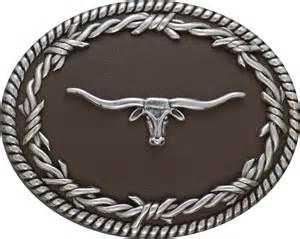 longhorn belt buckle by nocona