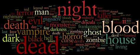 ghost film titles what s in a name horror movie titles science of horror