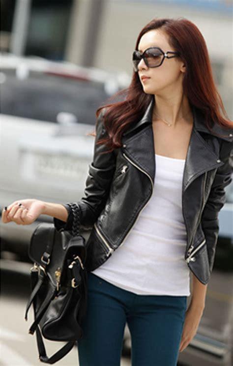 Jaket Kulit Asli Domba Model Abg Simple jaket wanita keren 007 model terbaru 2016