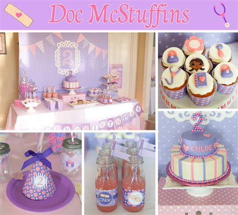Doc Mcstuffin Decorations by Doc Mcstuffins Birthday