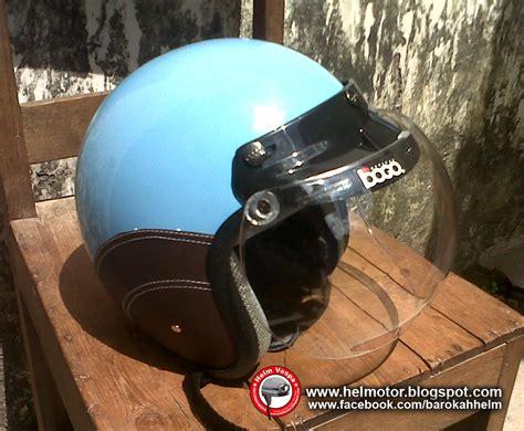 Helm Cakil Hbc Classic Vespa Orange Kuning helm vespa bogo ksct biru muda helm vespa
