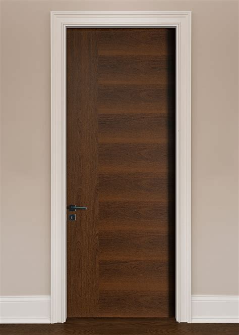 Modern Interior Doors Wood Veneer Solid Core Custom By Interior Doors