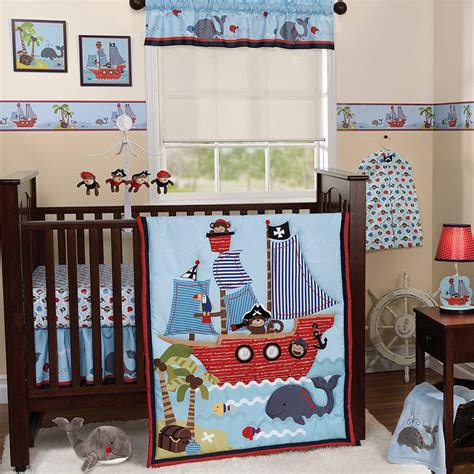 boy nursery bedding sets bedtime originals treasure island collection baby bedding and accessories